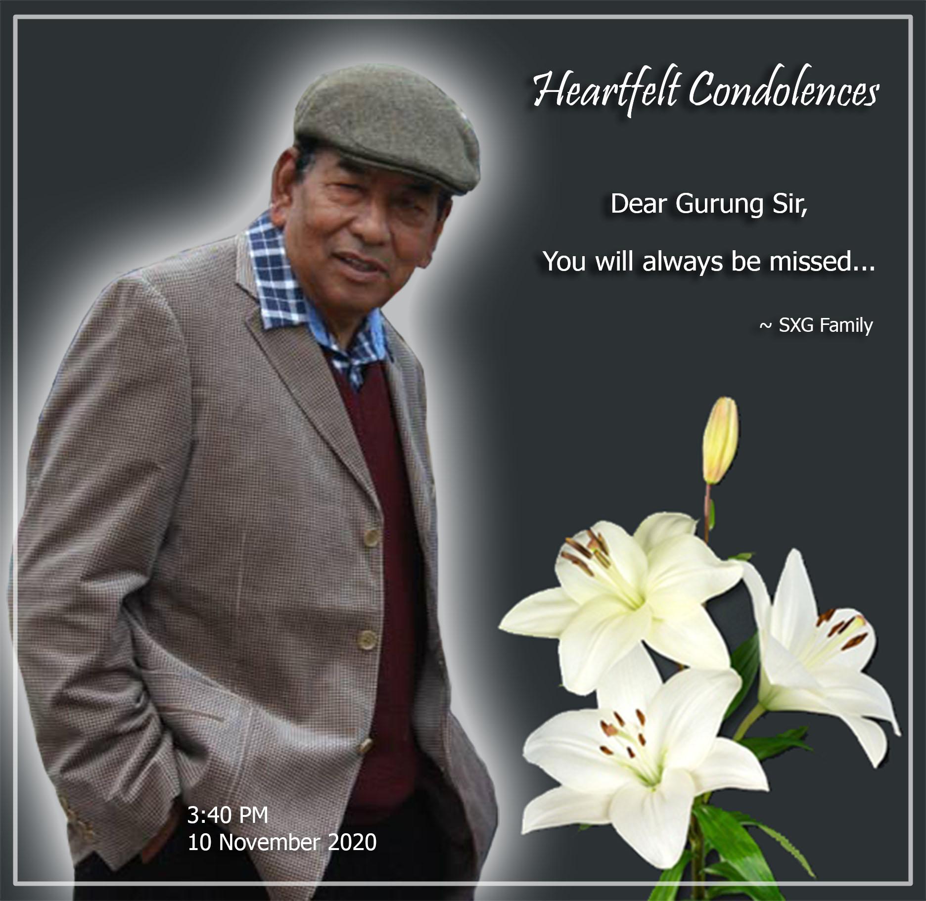 Heartfelt Condolence